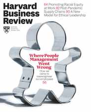 Harvard Business Review Magazine Subscription September 1st, 2020 Issue
