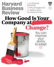 Harvard Business Review Magazine Subscription July 1st, 2021 Issue