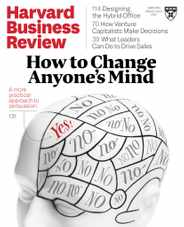 Harvard Business Review Magazine Subscription March 1st, 2021 Issue