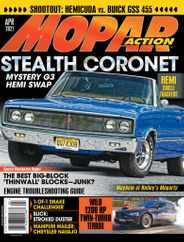 Mopar Action Magazine Subscription April 1st, 2021 Issue