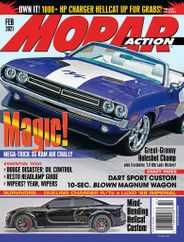 Mopar Action Magazine Subscription February 1st, 2021 Issue