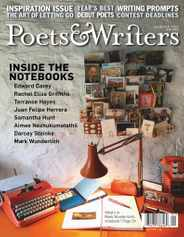 Poets & Writers Magazine Subscription January 1st, 2021 Issue