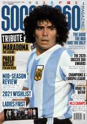 Soccer 360 Magazine Subscription January 1st, 2021 Issue
