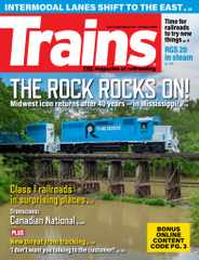 Trains Magazine Subscription October 1st, 2020 Issue