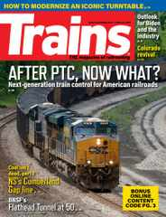 Trains Magazine Subscription February 1st, 2021 Issue