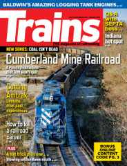 Trains Magazine Subscription January 1st, 2021 Issue