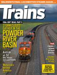 Trains Magazine Subscription March 1st, 2021 Issue