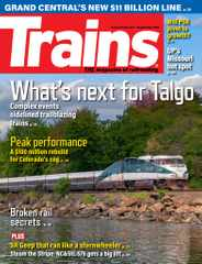 Trains Magazine Subscription September 1st, 2021 Issue