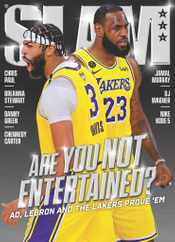 Slam Magazine Subscription November 1st, 2020 Issue