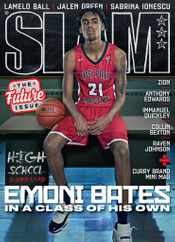 Slam Magazine Subscription April 1st, 2021 Issue