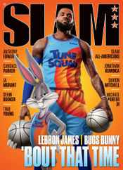 Slam Magazine Subscription August 1st, 2021 Issue