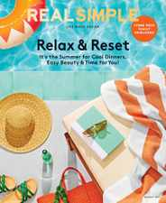 Real Simple Magazine Subscription August 1st, 2021 Issue