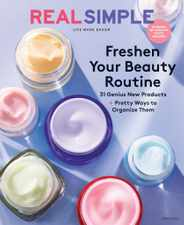 Real Simple Magazine Subscription March 1st, 2021 Issue