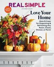 Real Simple Magazine Subscription October 1st, 2021 Issue