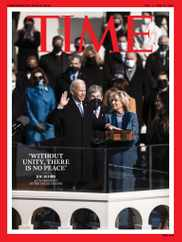 Time Magazine Subscription February 1st, 2021 Issue