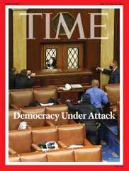 Time Magazine Subscription January 18th, 2021 Issue
