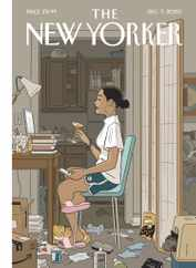 The New Yorker Magazine Subscription December 7th, 2020 Issue