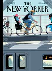 The New Yorker Magazine Subscription October 26th, 2020 Issue