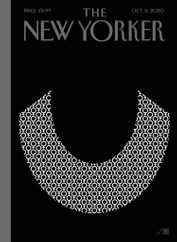 The New Yorker Magazine Subscription October 5th, 2020 Issue