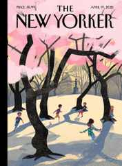 The New Yorker Magazine Subscription April 19th, 2021 Issue