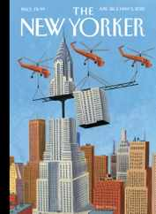 The New Yorker Magazine Subscription April 26th, 2021 Issue