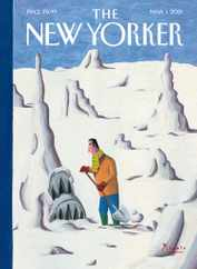 The New Yorker Magazine Subscription March 1st, 2021 Issue