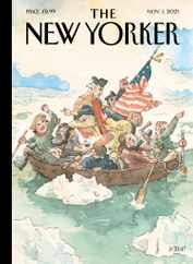 The New Yorker Magazine Subscription November 1st, 2021 Issue