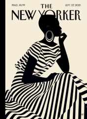 The New Yorker Magazine Subscription September 27th, 2021 Issue