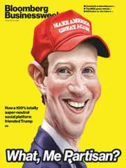 Bloomberg BusinessWeek Magazine Subscription September 21st, 2020 Issue