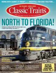 Classic Trains Magazine Subscription August 3rd, 2020 Issue