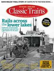 Classic Trains Magazine Subscription November 2nd, 2020 Issue