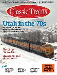 Classic Trains Magazine Subscription February 1st, 2021 Issue
