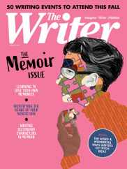 The Writer Magazine Subscription August 1st, 2021 Issue