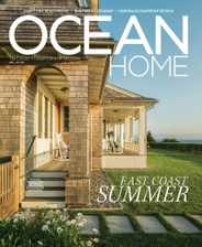 Ocean Home Magazine Subscription June 1st, 2021 Issue