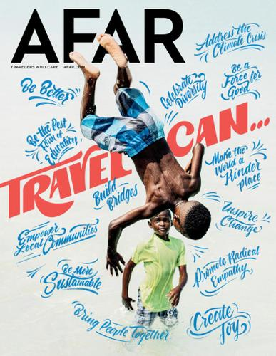 3-Year (18 Issues) of Afar Magazine Subscription