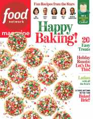 Food Network Magazine Subscription December 1st, 2020 Issue
