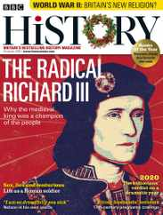 BBC History Magazine Subscription December 15th, 2020 Issue