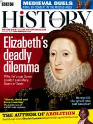 Bbc History Magazine Subscription November 1st, 2021 Issue