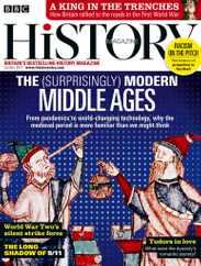 Bbc History Magazine Subscription October 1st, 2021 Issue
