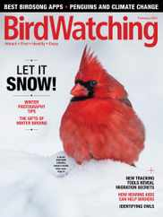 Birdwatching Magazine Subscription January 1st, 2021 Issue