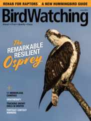 Birdwatching Magazine Subscription May 1st, 2021 Issue