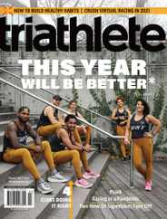 Triathlete Magazine Subscription January 1st, 2021 Issue