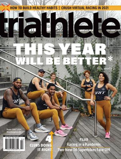 1-Year (24 Issues) of Triathlete Magazine Subscription