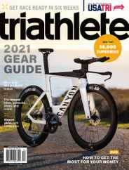 Triathlete Magazine Subscription March 1st, 2021 Issue