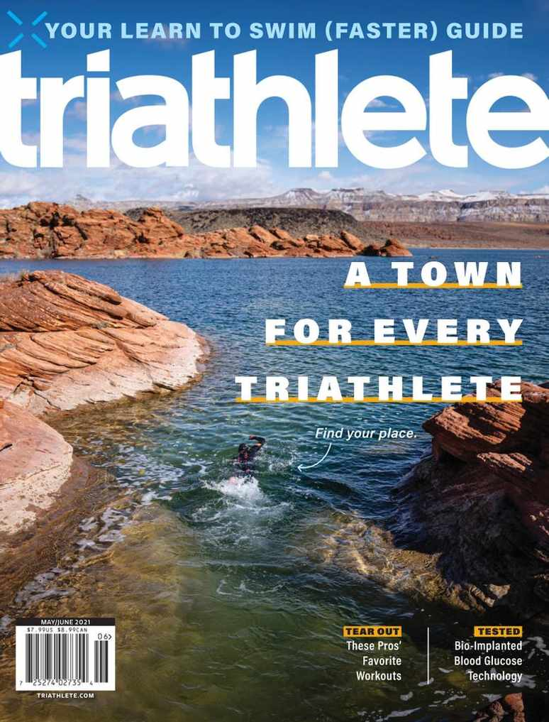 4-Year (24 Issues) of Triathlete Magazine Subscription