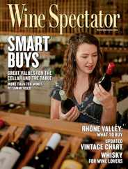 Wine Spectator Magazine Subscription February 28th, 2021 Issue