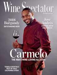 Wine Spectator Magazine Subscription May 31st, 2021 Issue