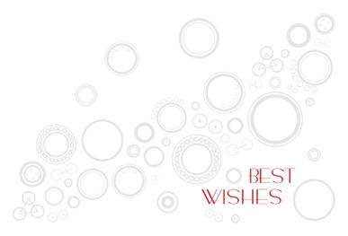 Best Wishes Postcard Cover