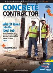 Concrete Contractor Magazine Subscription