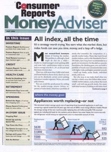 Consumer Reports Money Advisor